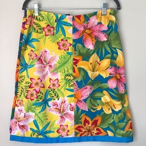 Tommy Hilfiger Tropical Floral Hawaiian Skirt-8